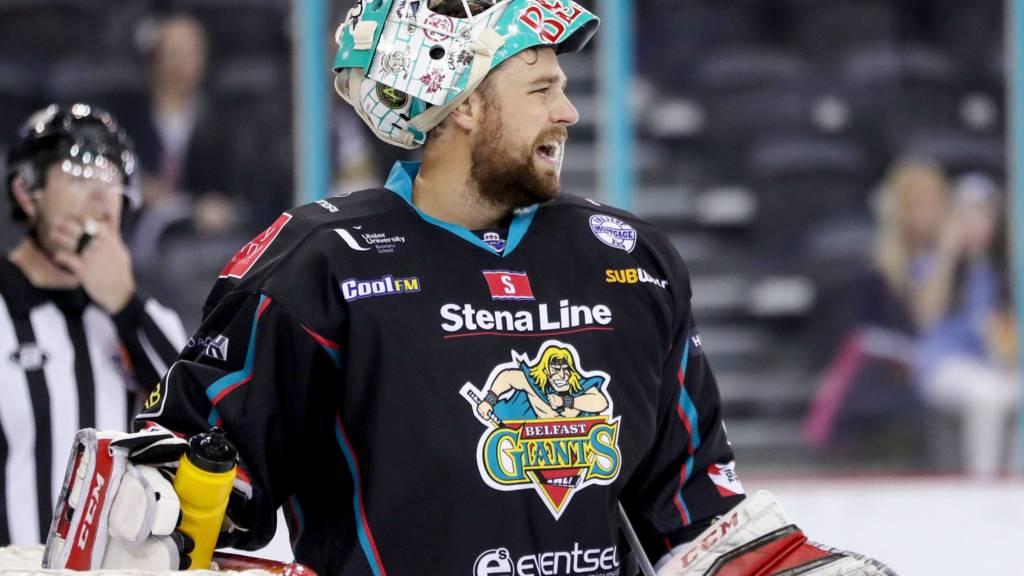 Belfast Giants Tyler Beskorowany