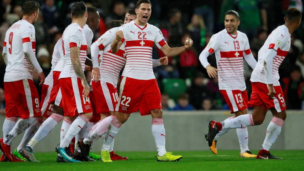 Seferovic scores for Switzerland
