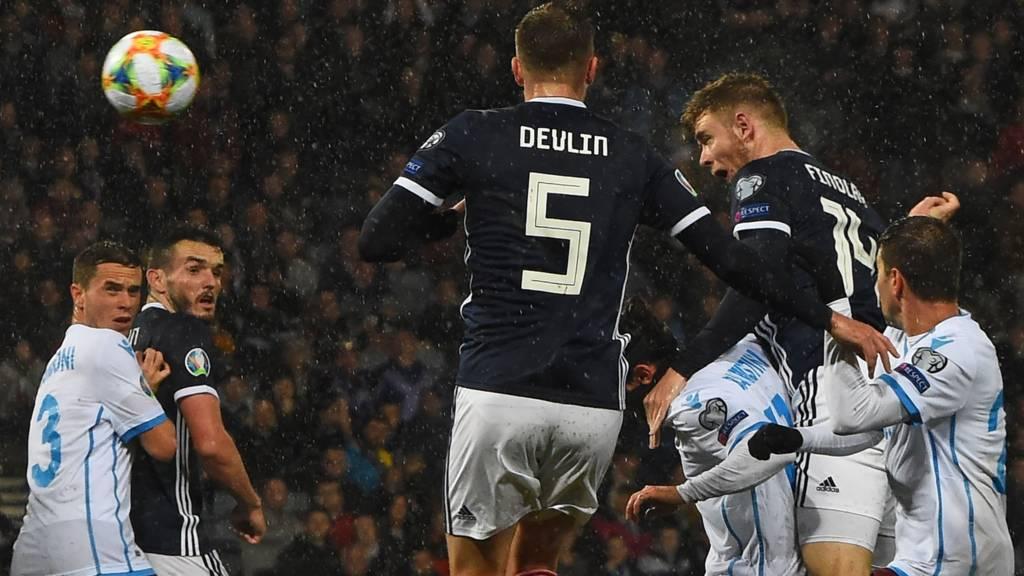 Scotland v San Marino