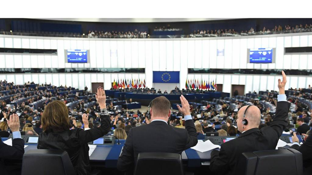 Voting during plenary