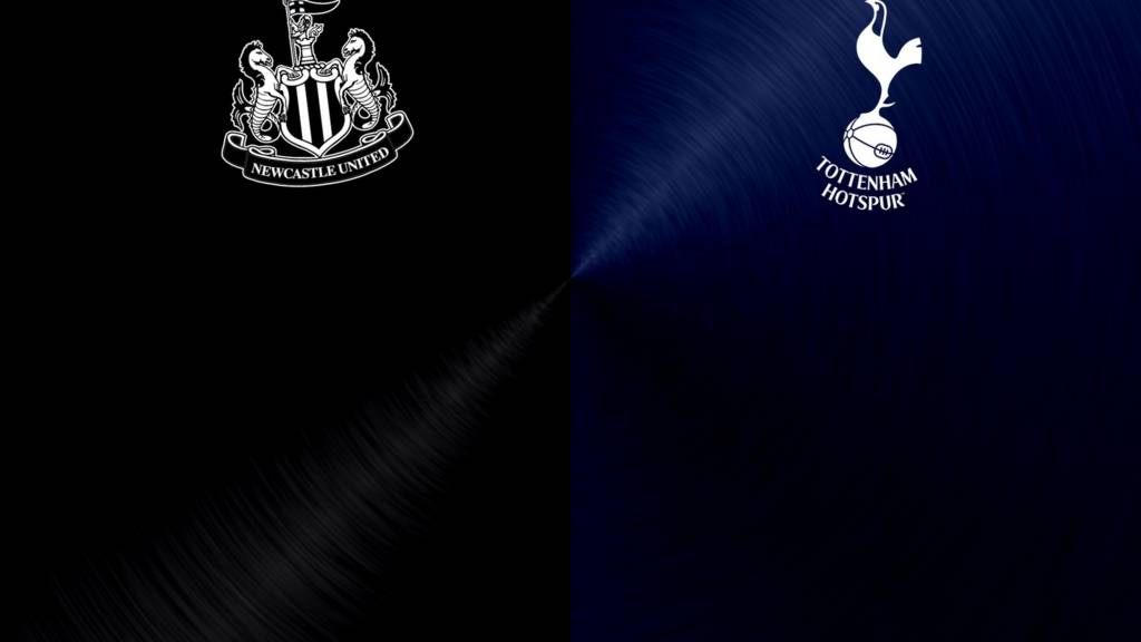 Newcastle v Tottenham badges