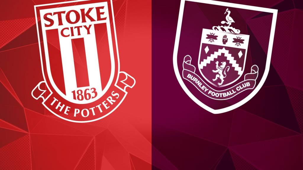 Stoke City and Burnley badges