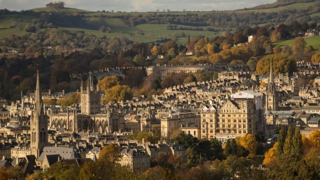 Bath city view