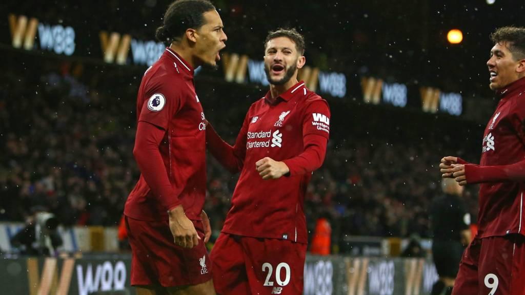 Wolves v Liverpool live in Premier League - Live - BBC Sport 3b5979d6a4836
