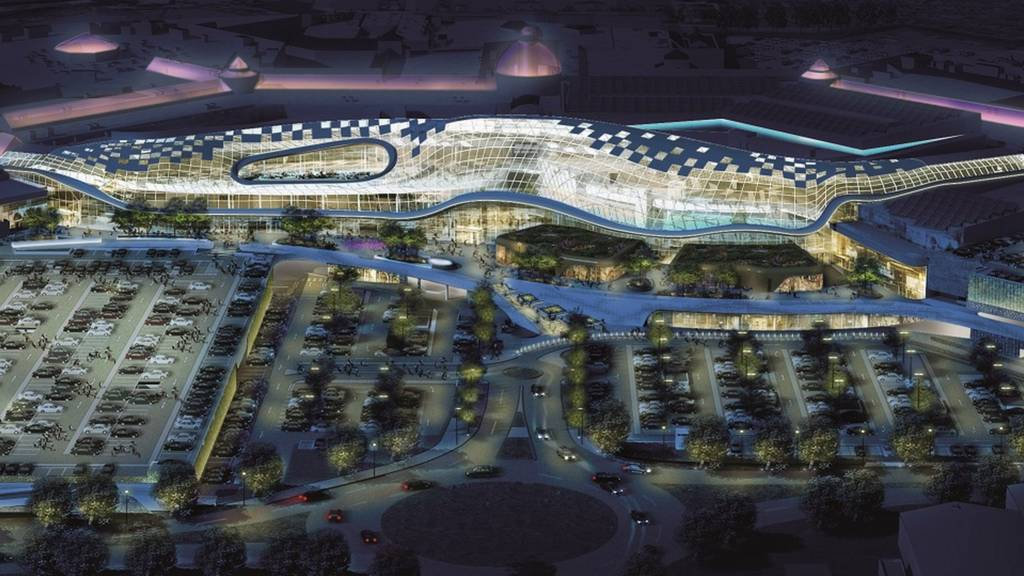 Planned Meadowhall development