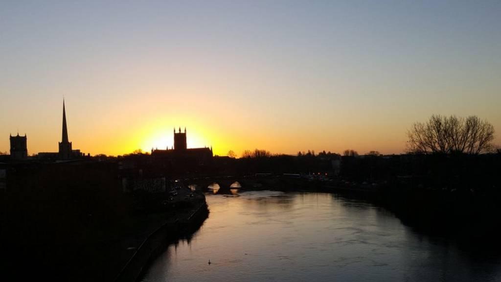 Worcester skyline