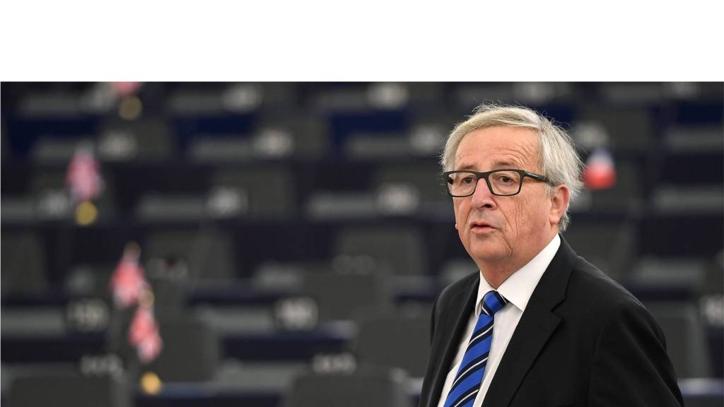 Juncker at the European Parliament