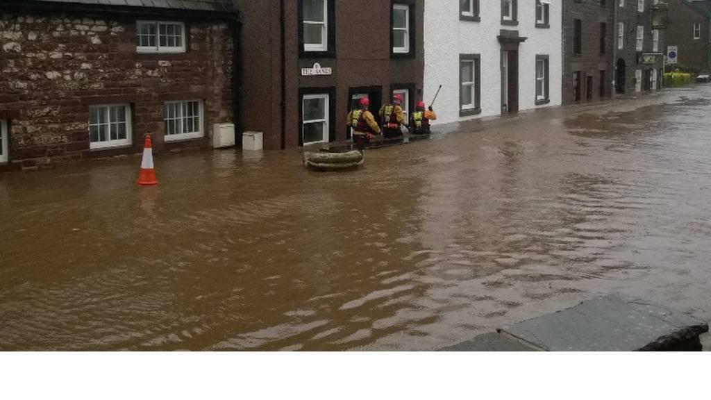 Flooding in Appleby