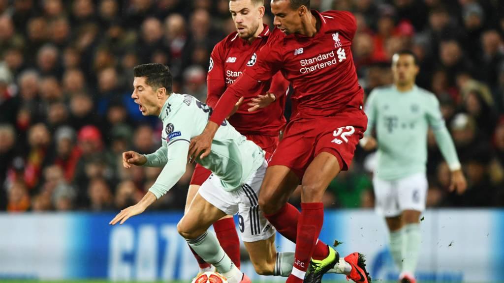 Liverpool v Bayern Munich: Champions League live - Live
