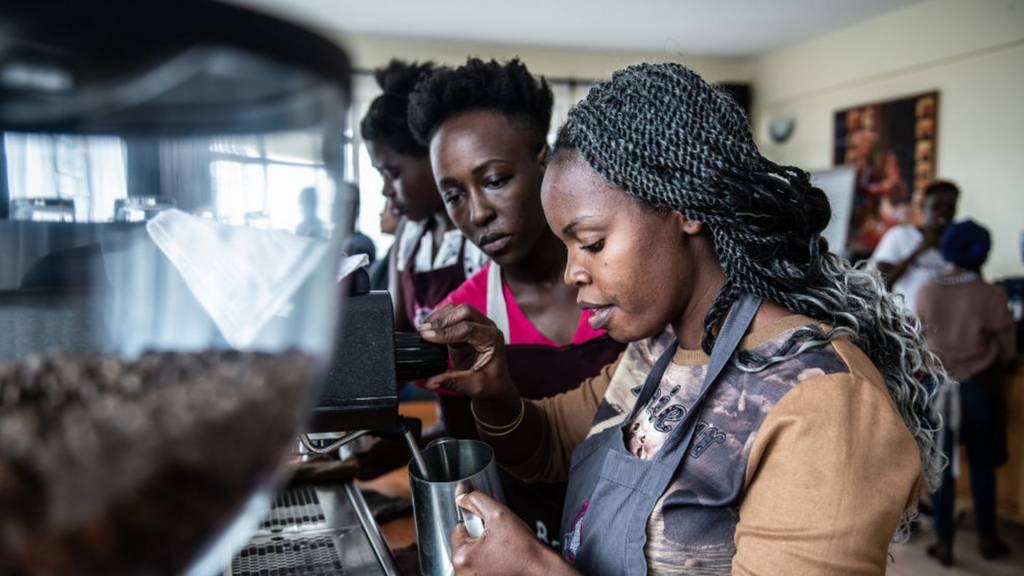 Baristas in Kenya