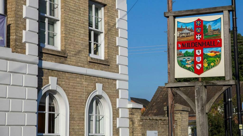 Mildenhall Village Sign