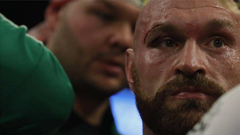 Tyson Fury and Otto Wallin