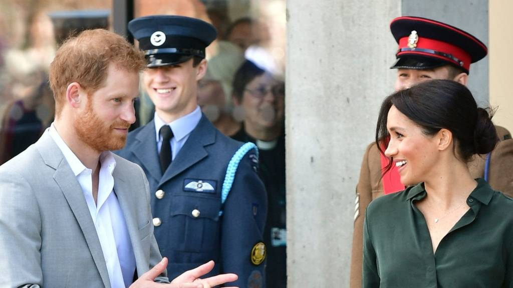 Prince Harry and Meghan Markle visit their namesake county Sussex