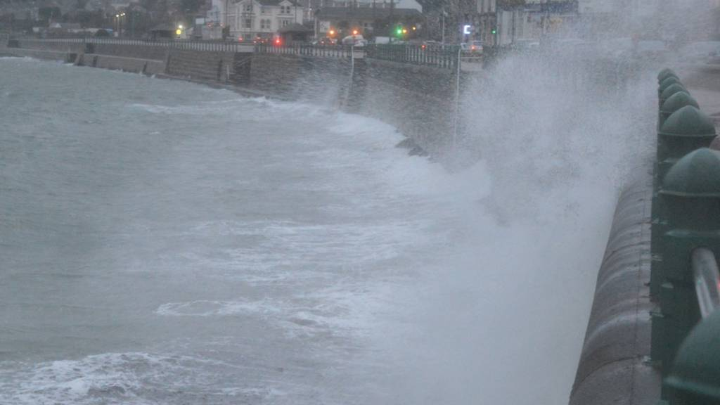 Stormy Penzance. Pic: Andrew Segal