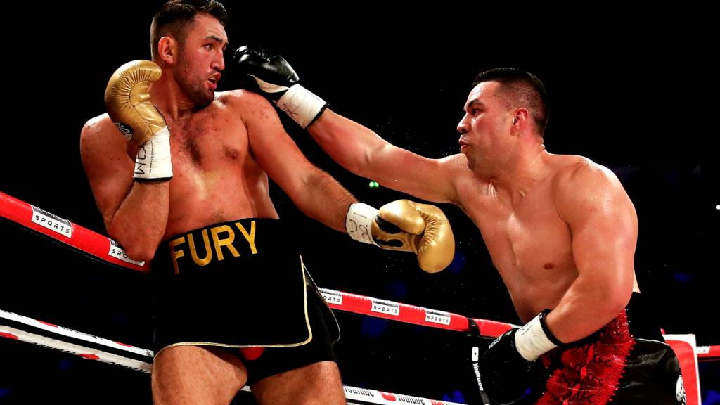Joseph Parker beats Hughie Fury to retain WBO world heavyweight title