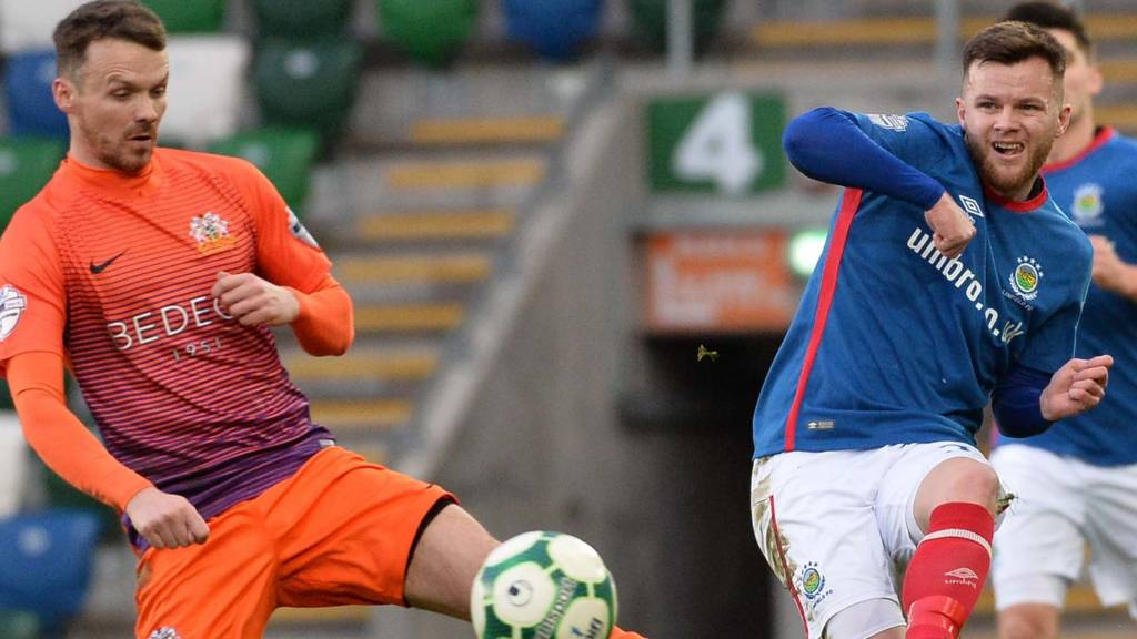 Linfield are playing Glenavon