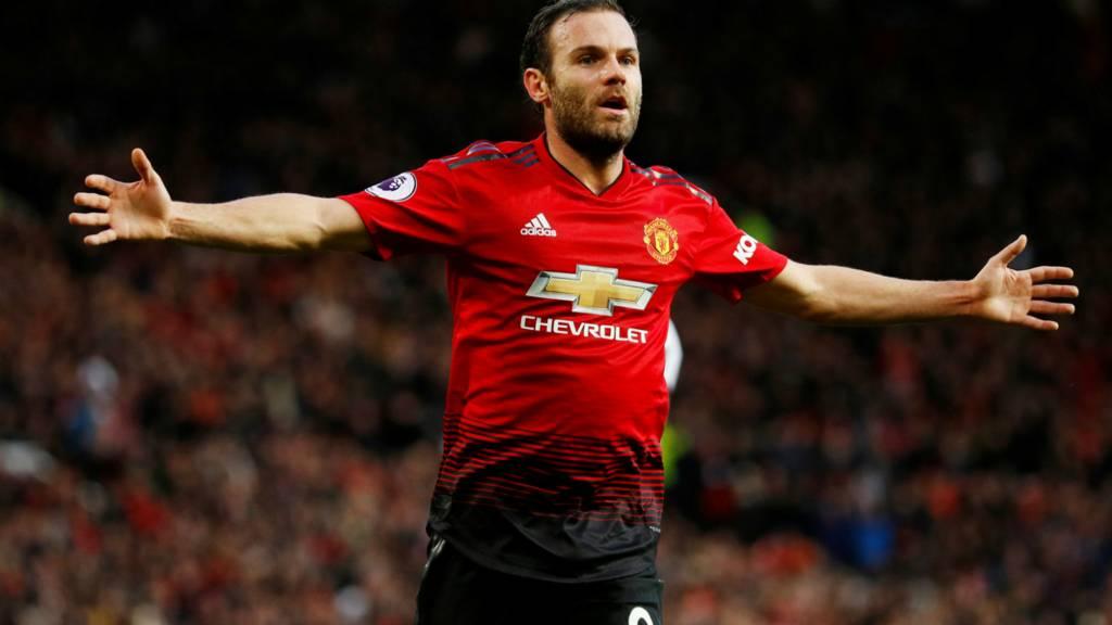 Manchester United's Juan Mata