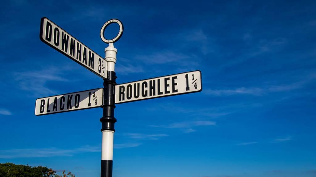 Lancashire sign