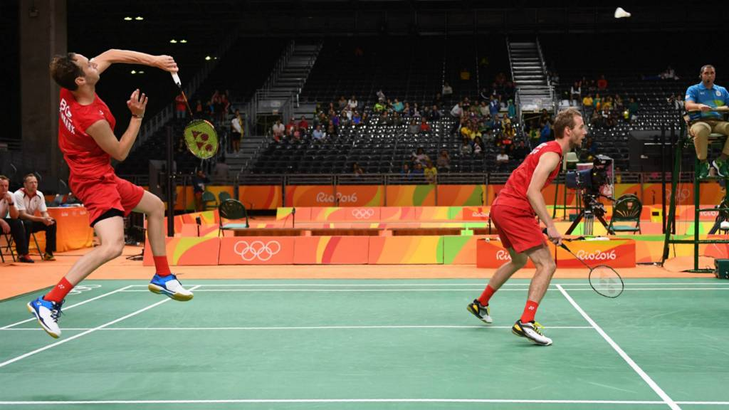 Denmark's Mathias Boe and Carsten Mogensen