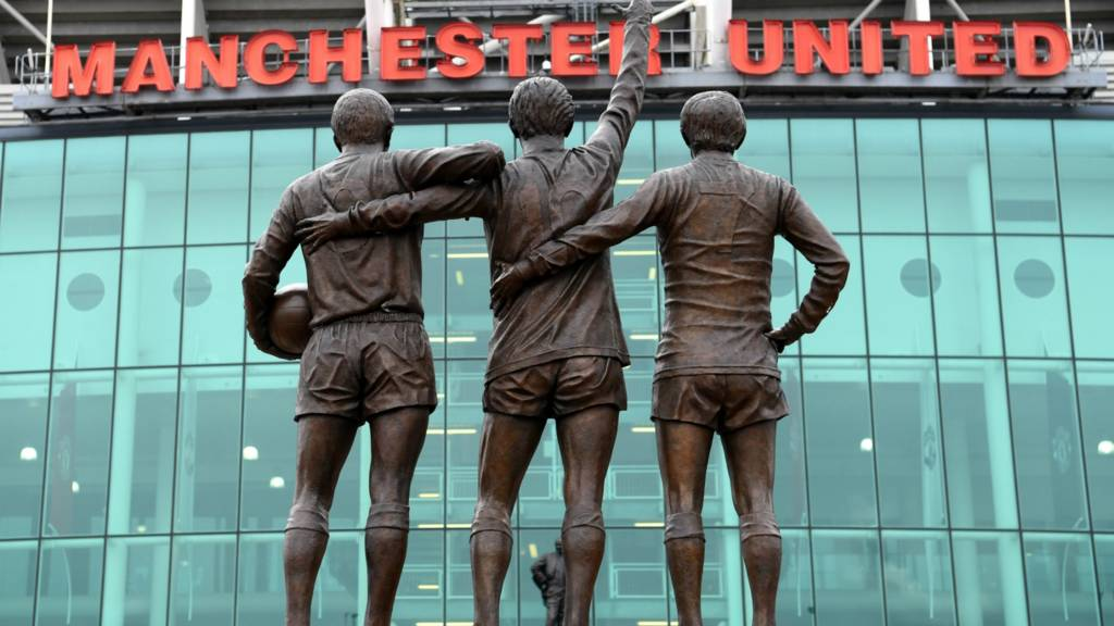 Outside Old Trafford