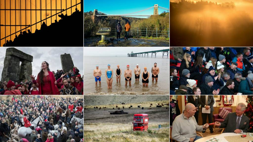 West Country collage