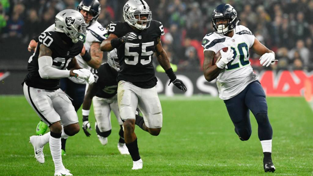Relive Seattle Seahawks v Oakland Raiders in NFL London Games - BBC ... 85f189bbb