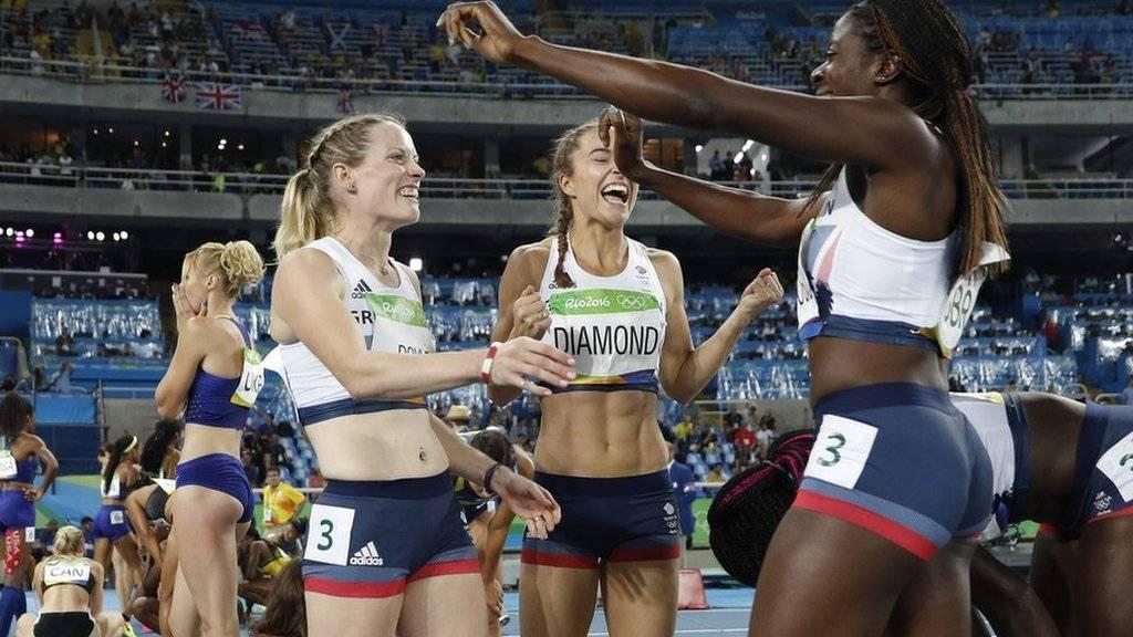 GB women's 4 x 400m relay team