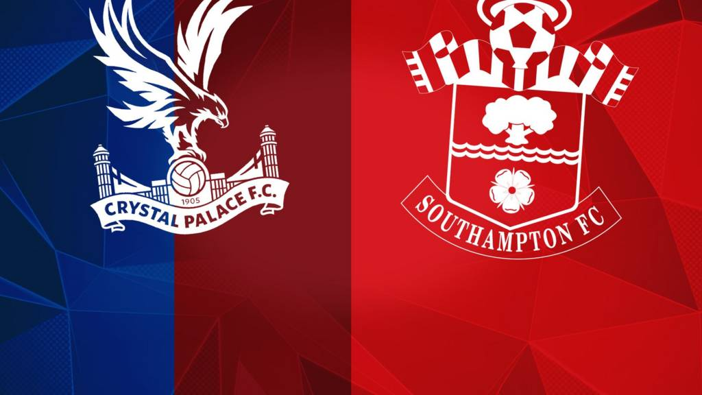 Crystal Palace and Southampton badges