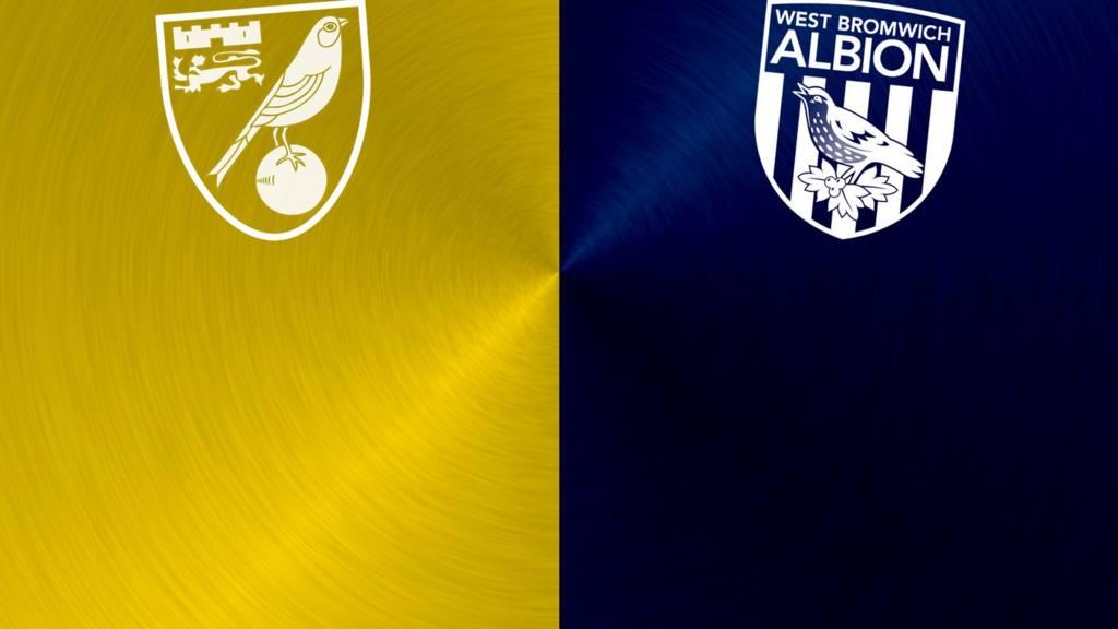 Norwich City v West Bromwich Albion