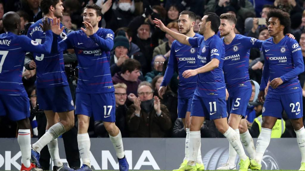 Chelsea Tighten Grip On Top Four Spot With Win Over Newcastle