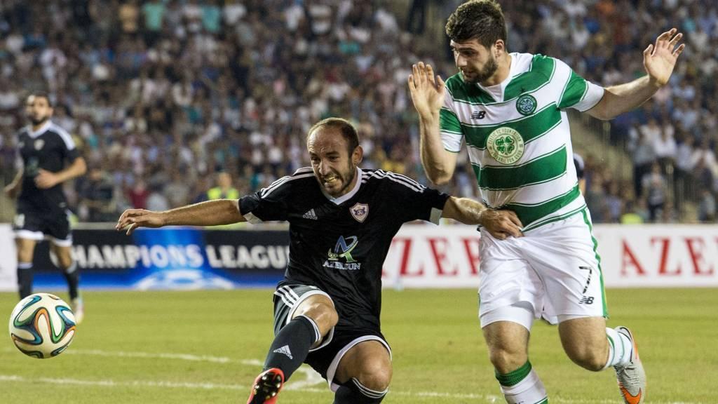 Celtic's Nadir Ciftci inaction against Qarabag