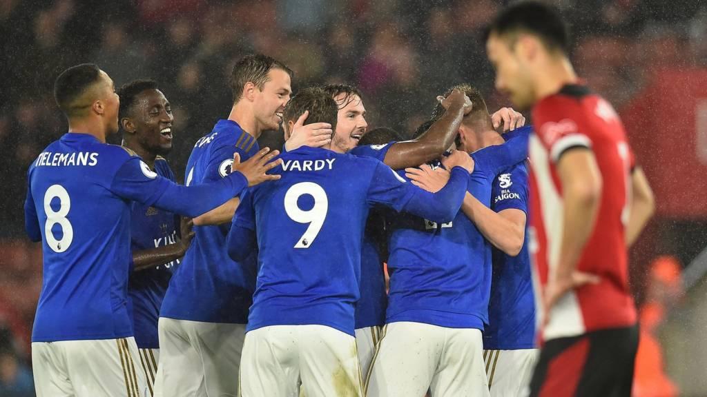 Leicester score seven