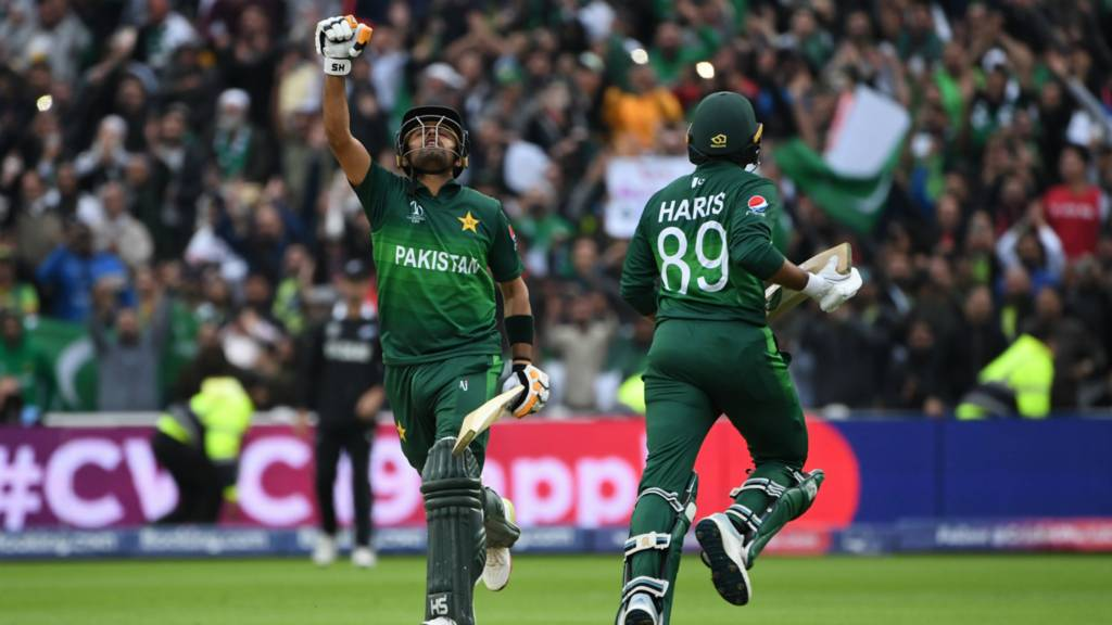 Babar reaches his hundred