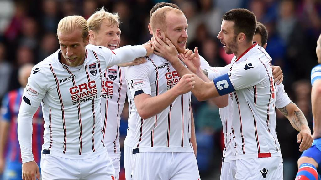 Liam Boyce has scored a hat-trick for County