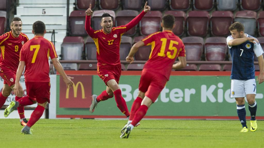 Macedonia struck first at Tynecastle