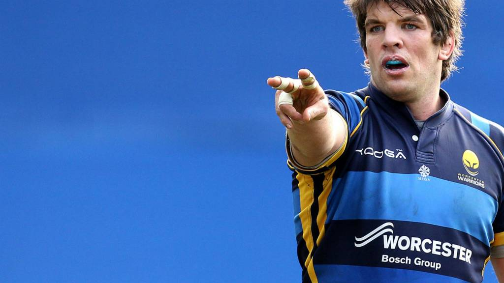 Worcester's Donncha O'Callaghan