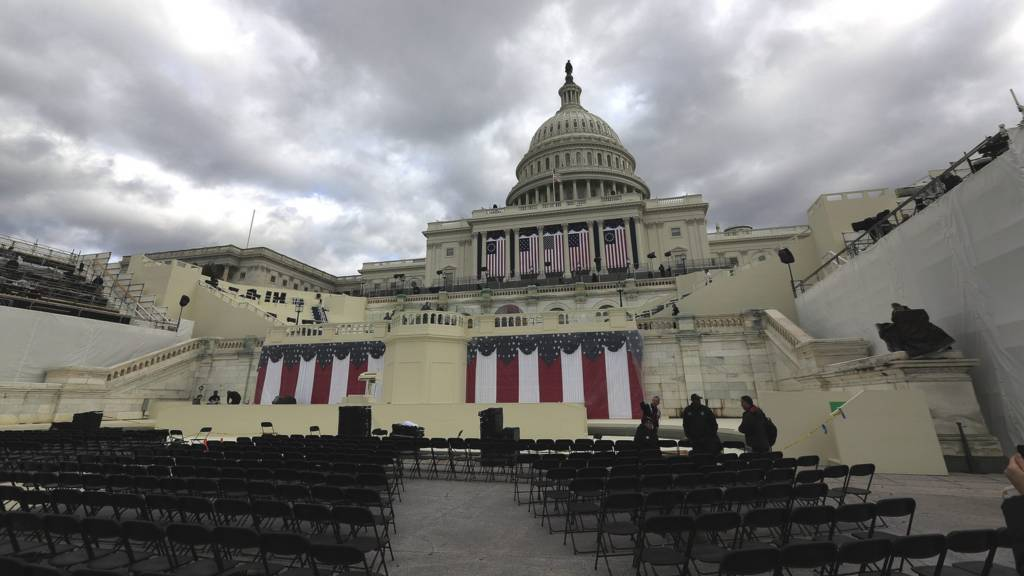 US capitol ready for inauguration