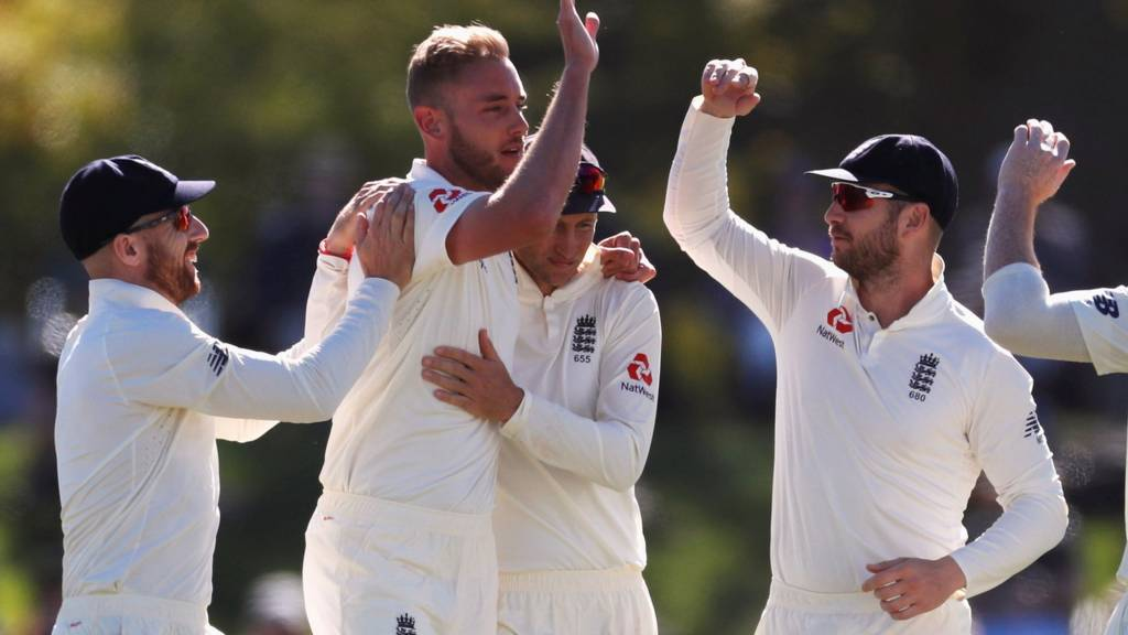 Blackcaps vs England: Second test, day three