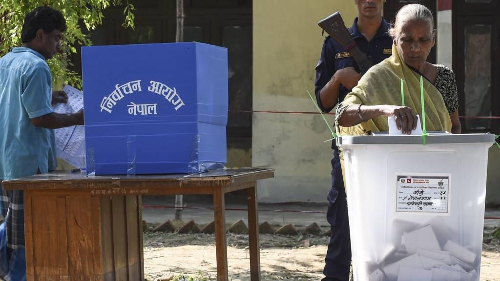 स्थानीय निर्वाचनमा मतदान