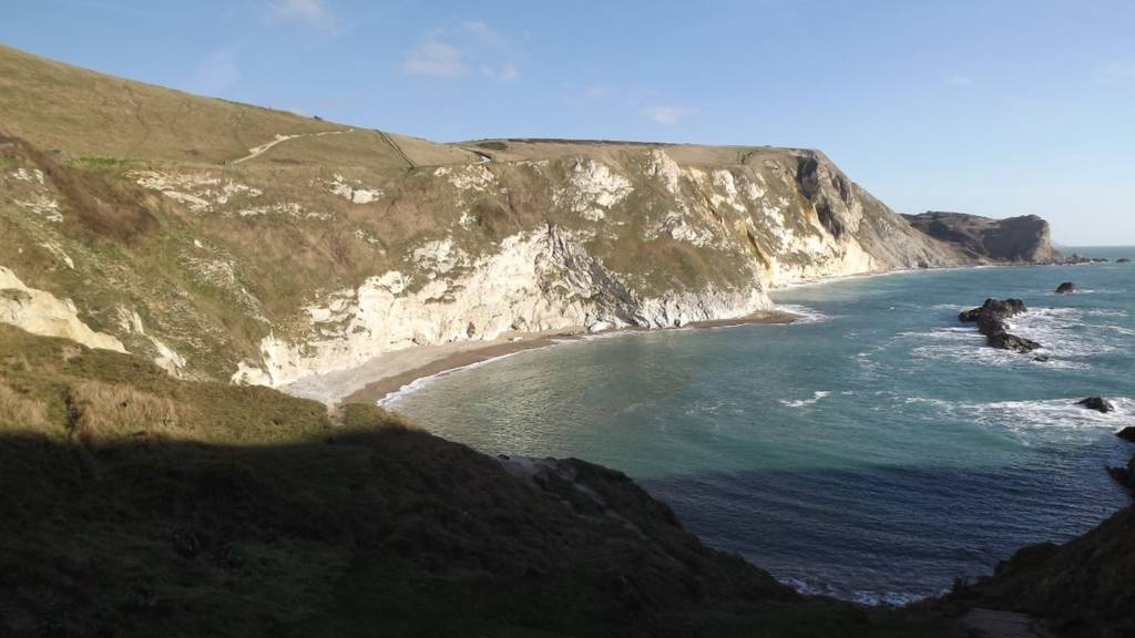 St Oswald's Bay from Durdle Door