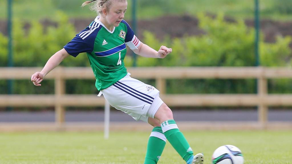 Northern Ireland U19 player Emma McMaster