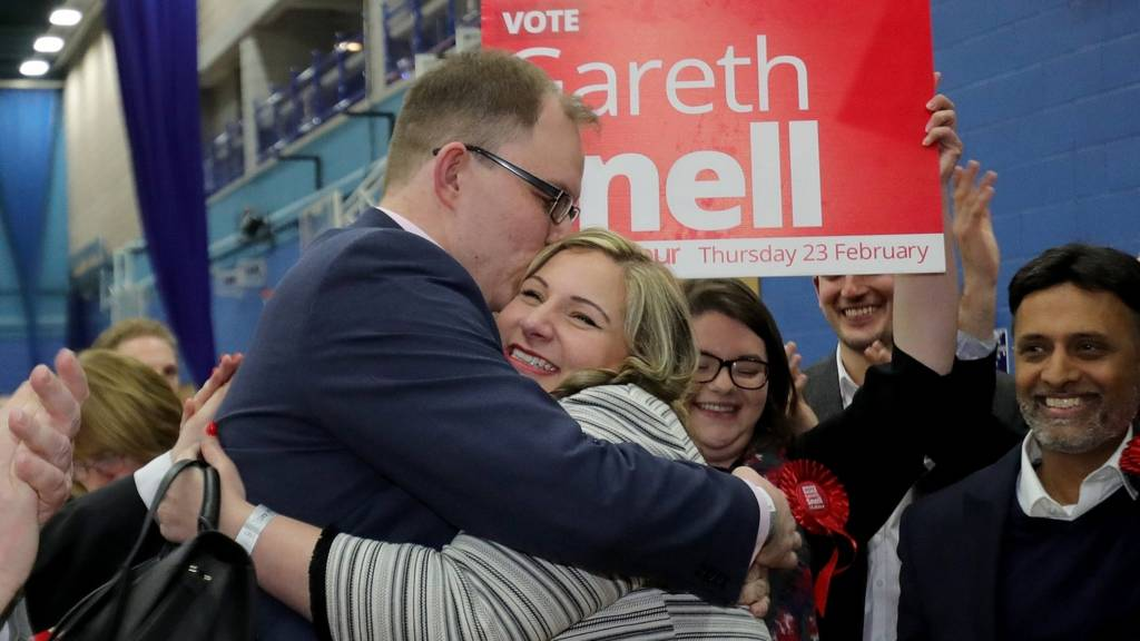 Gareth Snell and wife
