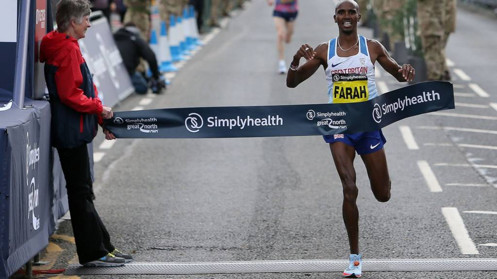 Mo Farah wins