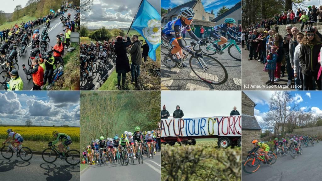 Tour de Yorkshire montage