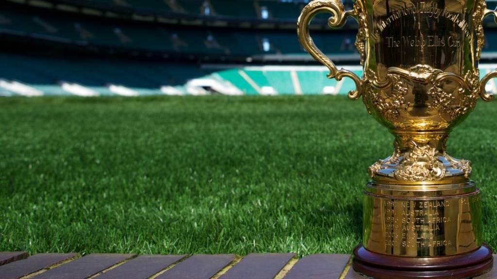 The Webb Ellis trophy