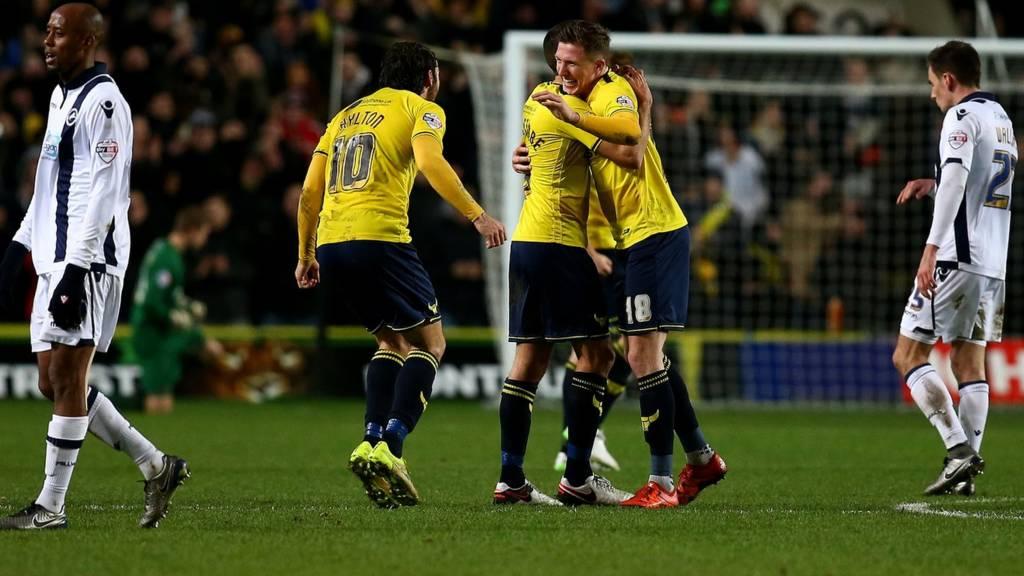 Oxford United v Millwall