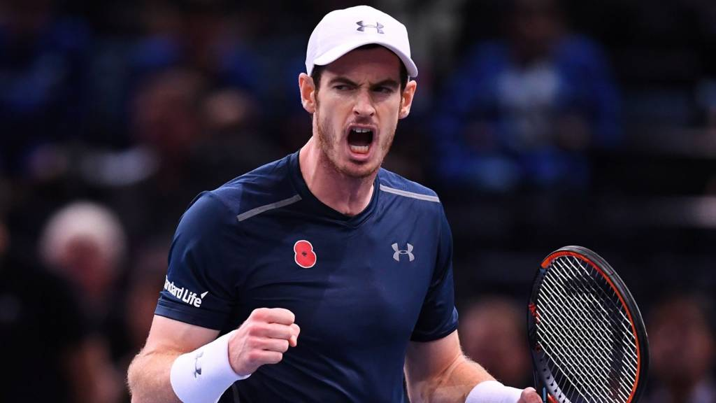 Andy Murray will be at Wembley