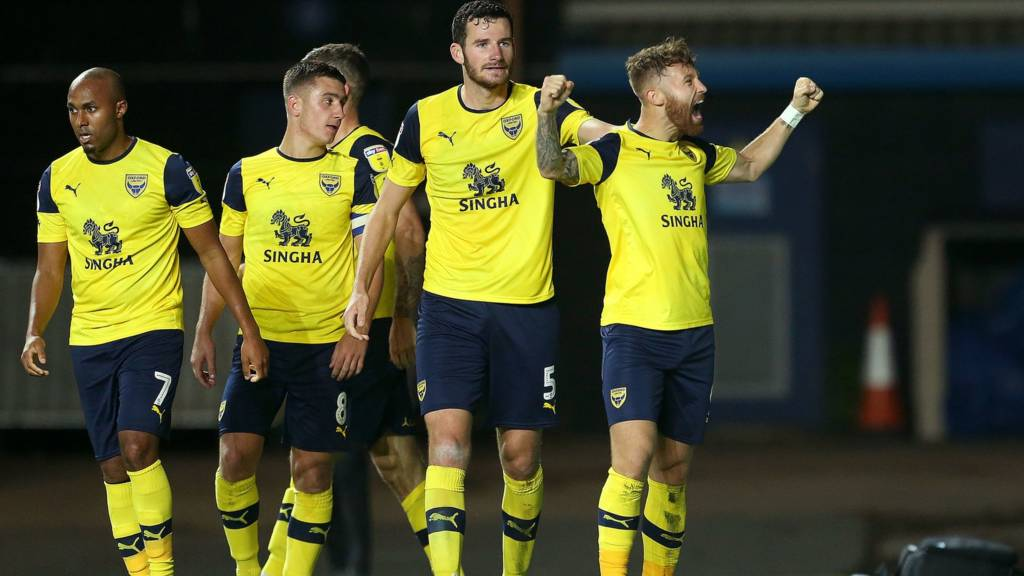 Oxford United's Matt Taylor