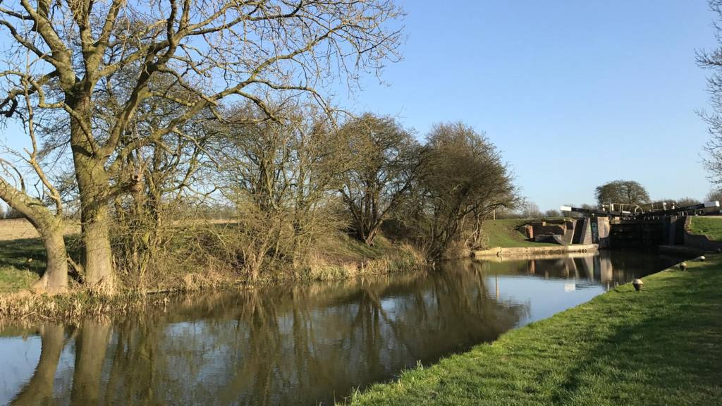 Grand Union Canal in South Wigston