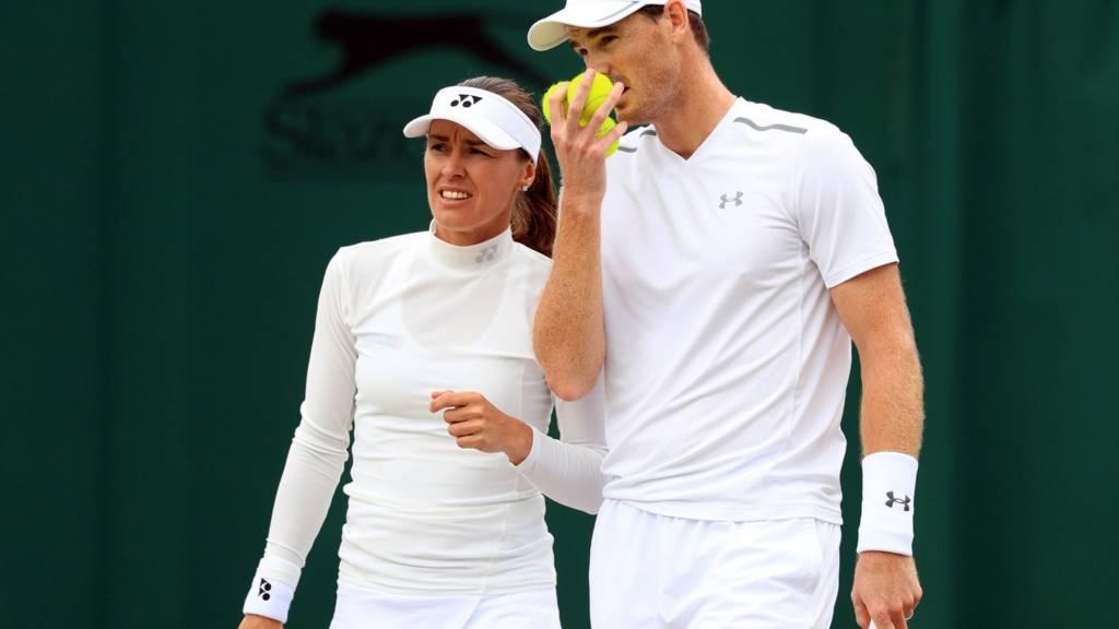 Jamie Murray and Martina Hingi